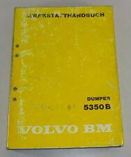 Manual de Taller Volvo Bm Dumper 5350 B Stand 04/1984
