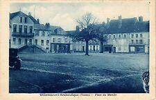 CPA   Villeneuve-l'Archevéque(Yonne) - Place du Marché   (357326)