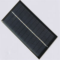 6V 1W Solar Panel Module DIY For Light Battery Cell Phone Toys Chargers Useful