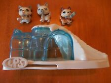Littlest Pet Shop POLAR PUPS HUSKY 68 69 70 IGLOO Huskies LPS Dog wolf Lot