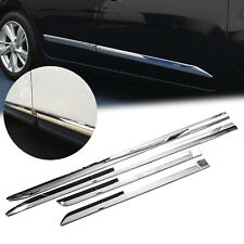 For Nissan Altima 2013-2018 ABS Chrome Side Door Body Cover Molding Trims 4PCS