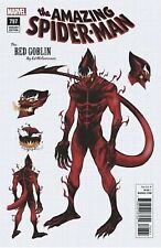 AMAZING SPIDERMAN 797 1:10 ED McGUINNESS DESIGN VARIANT RED GOBLIN IN HAND!