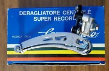 NOS CAMPAGNOLO SUPER RECORD FRONT DERAILLEUR BRAZE ON NEW OLD STOCK