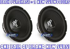 "1600W PAIR (2) Hifonics HFX12D4 12"" Dual 4 ohm Car Audio Subwoofers HF Series"