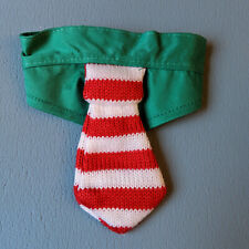 NWT Wondershop at Target Xmas Holiday Cat Collar with Red White Stripe Tie