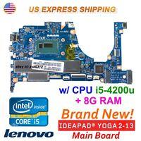 Lenovo YOGA 2 13 20344 i5-4200U CPU 8G RAM Laptop ZIVY0 LA-A921P  Motherboard