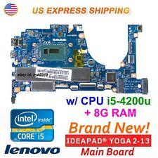 Lenovo Yoga 2 13 20344 I5-4200u CPU 8g RAM Laptop La-a921p Zivy0 Motherboard