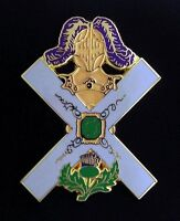 Scottish Rite Knights of St. Andrew Kilt Badge (KSA-3)