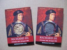 Richard 111 Coin Packs - Angel And Groat Coins