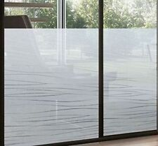 Fensterfolie Streifen Garbi 92 cm hoch Sichtschutzfolie LineaFix Meterware