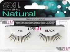 Lot 4 Pairs ARDELL Natural 116 False Eyelashes Fake Strip Eye Lashes Black Lash