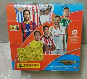 Caja 50 Adrenalyn XL Liga 2020-21.  Panini. Nueva