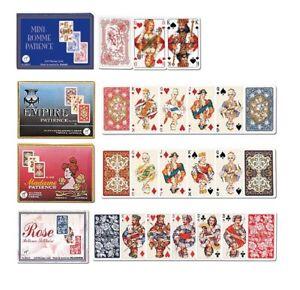 Piatnik Mini Romme / Patience 2 x 55 Karten 6,6 x 4,4 cm
