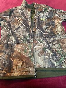 Under Armour Scent Blocker Heavy Weight Jacket (XXL) and Pants (40) Realtree