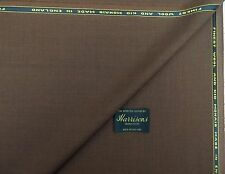 WOOL/KID MOHAIR, GINGER SUITING FABRIC, 3.5M - MADE IN ENGLAND