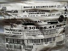 Carol E3062S 12/2C Stranded Plenum Media/Communication/Control Cable NAT/100ft