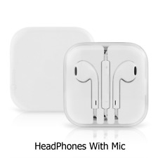 New Headphones With Mic For Apple iPhone 4-5-6-S iPad  (XMAS SALE!)