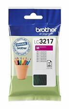 Brother LC-3217M Inkjet Cartridge, Magenta, Single Pack, Standard Yield,