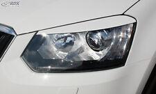 RDX Scheinwerferblenden für SKODA Yeti 2014+ Böser Blick Blenden Spoiler Tuning