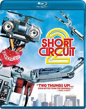 SHORT CIRCUIT 2 BLU-RAY - SINGLE DISC EDITION - NEW UNOPENED - MICHAEL MCKEAN