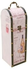 Pino Blanc Wine Bottle Carrier Perfect Gift!(Holds a standard size wine bottle)