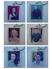 Hollyoaks characters, Photo Keyring / bag tag, or Fridge Magnet, clear plastic,