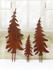 Edelrost  Gartenstecker Tannenbaum xl xxl baum verschiedene Grössen varianten!!!