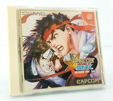 Capcom VS SNK - Sega Dreamcast JAP Japan complet