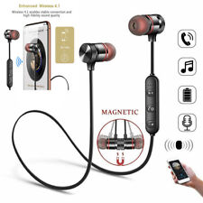 Wireless Bluetooth Sport Gym Headphones Earphones Earbuds Headset with MIC Bass