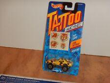 1992 HOT WHEELS TATTOO MACHINES STREET BEAST, #3491, NOS