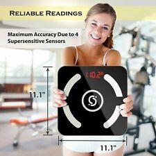 Cruxsolver Digital Body Fat Scale BMI Water Muscle Bone Weight 400lb 50 User