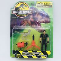 THE LOST WORLD JURASSIC PARK Vintage Ian Malcolm Figure Kenner HASBRO 1997