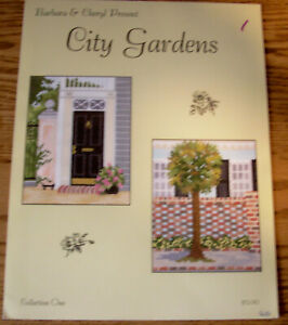 Cross Stitch Pattern - Barbara & Cheryl Present - City Gardens