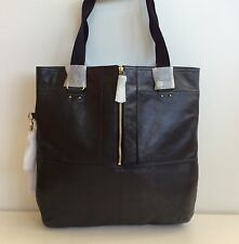 Kipling Black Leather Yindi L Tote Hand Per Bag Rare New With Tags