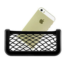 Portable Auto Resilient String Bag Storage Net Mobile Phone GPS Cards Organizer