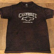 Chevrolet Established 1911 Vintage Retro Design GM Licensed XL Shirt Polycotton