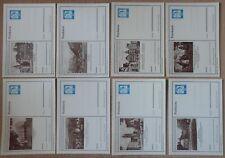8 Bildpostkarten Bund P81, gut erhalten, siehe Foto.