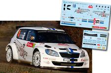 C069 Decal 1:43 Sebastien Ogier - SKODA FABIA S2000 - Rally Montecarlo 2012