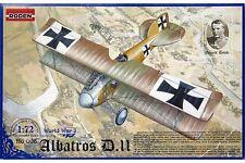 RODEN 006 1/72 Albatros D.II World War I