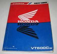 Werkstatthandbuch Honda VT 600 C Motor Bremse Kupplung Schmiersystem Stand 1997!
