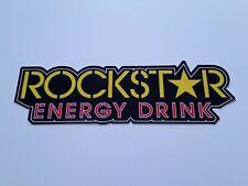 "2 Set 2x ROCKSTAR Energy Drink 10"" Sticker Decal Motorcycles Motorcross BMX R2"