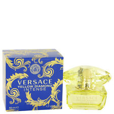 VERSACE YELLOW DIAMOND INTENSE 1.7/1.6 OZ  EDP SPR  WOMEN BY VERSACE NEW IN  BOX