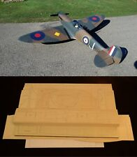 "100"" wingspan Supermarine Spitfire Mk-V R/c Plane short kit/semi kit and plans"