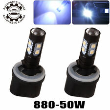 2 for Chevrolet 99-02 Silverado 1500 04-06 SSR Cool White LED Fog Light Bulbs