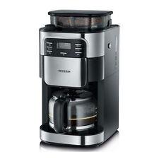Severin KA 4810 Kaffeeautomat Kaffeemaschine mit Mahlwerk schwarz/Edelstahl