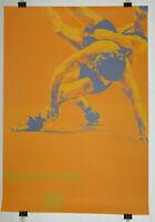 Poster Plakat - Ringen DIN A0 - Olympiade 1972 München - Otl Aicher