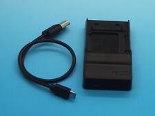 USB Battery Charger For NP-BD1 Sony Cyber-Shot DSC-W85 DSC-W90 DSC-W100 DSC-W110