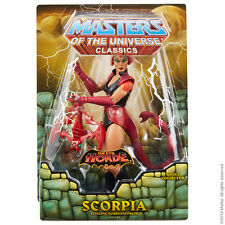 MOTUC Scorpia Masters of the Universe Classics 2014 He-Man Club Eternia
