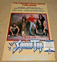 ROB REINER SIGNED SPINAL TAP 12X18 POSTER PHOTO THE PRINCESS BRIDE DIRECTOR  BAS