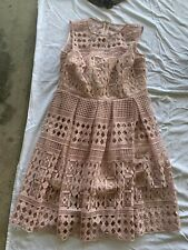 FOREVER NEW STUNNING LACE DRESS SIZE 14